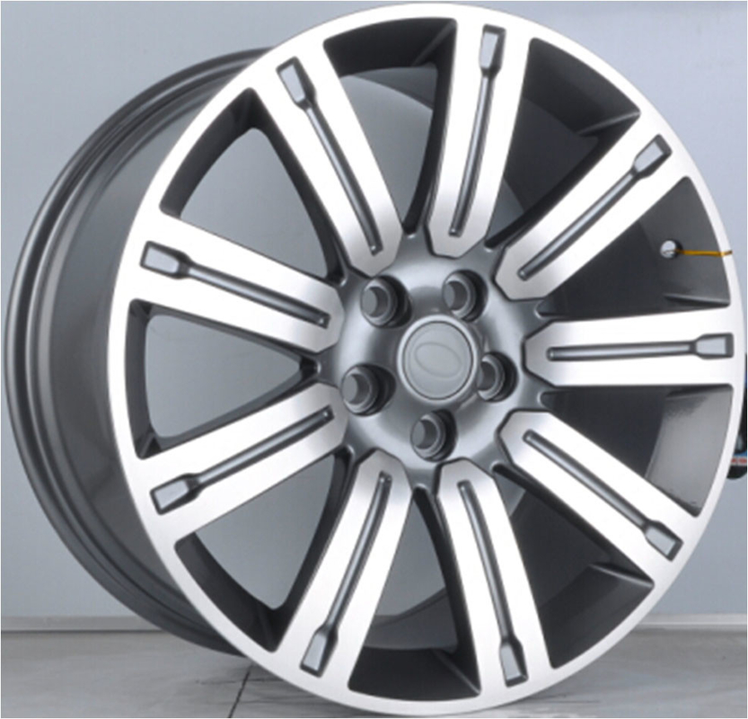 Alloy RIms For Range Rover V6/ 20inch Gun Metal Machined 1-PC Forged Alloy Wheel RIms