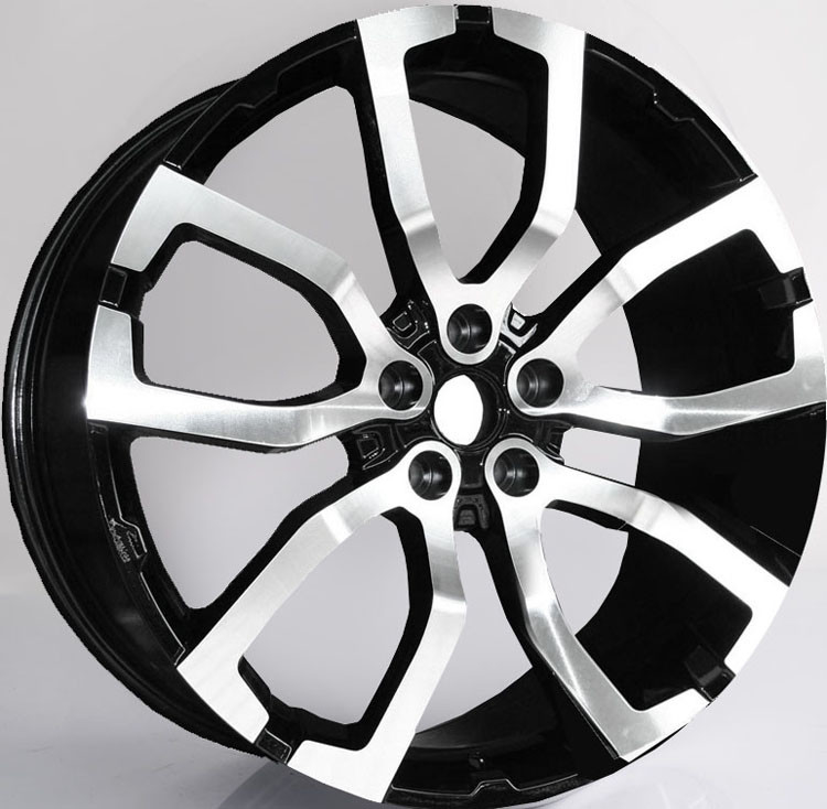 22inch Wheels For  Range Rover Sport/ 22inch Gun Metal Machined 1-PC Forged Alloy 5x120 Rims