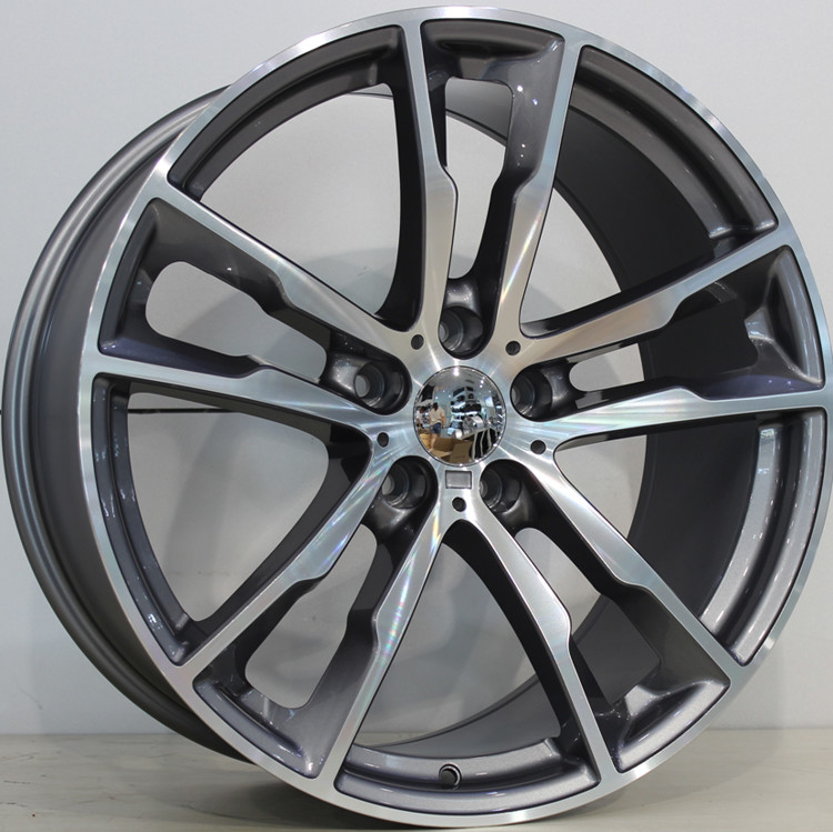 Staggered Rims With PCD 5-120 For BMW X5 X6/ Gun Metal Machined Customized 20 Inch Forged Alloy Wheel Rims