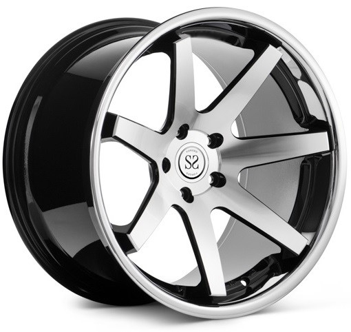 19 inch 5*120 2 piece forged deep concave forged wheels rims