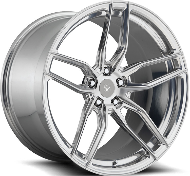 20 inch Rims Brush Customized  For Audi RS7 / 22inch Rims Aluminum Alloy RIms